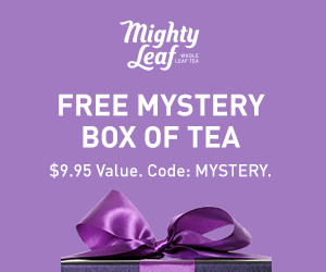 FREE Mystery Box of Tea. $9.95 Value. Code: MYSTERY.