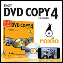 Roxio Easy DVD, Copie Easy DVD,  Conversion vidéo rapide,  DVD video, iPhone, iPod,  autres périphériques portables,