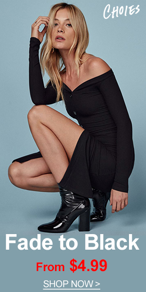 Discover the latest clothes at CHOiES. Shop women's black clothing, black dresses, black tops