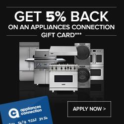 Image for Appliances Connection Credit Card/Financing Program Promotion
