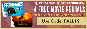 300x100 Get 4 Free Movie Rentals with Gift Card Orders of $75+ with Code: FALL19