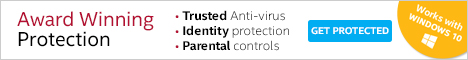 Award-winning antivirus from Intel Security