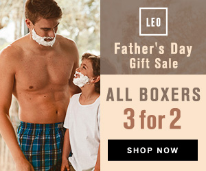 Leo Father's Day Gift Sale