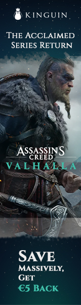 KINGUIN - Save EXTRA on AC: Valhalla with -6% OFF code! ?? – 160×600