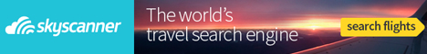 Search flights with Skyscanner