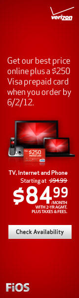 Click here to learn more about Verizon FIOS TV