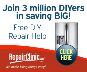 Join 3 Million DIYers in saving BIG - RepairClinic.com