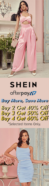 Buy More Save More at us.SHEIN.com. Buy 2 - 40% off, buy 3 - 50% off, buy 4 - 60% off. Ends 03/30