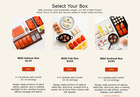 SUBSCRIBE & SIMPLIFY! Experience The Quality Of Our Wild Seafood - Delivered Monthly To Your Home!