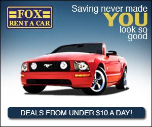 New Hot Deals at Fox Rent A Car