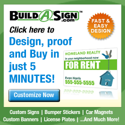 Custom Signs, Real Estate, Magnetic, Yard Signs