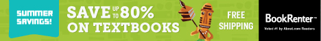 Free Shipping at BookRenter.com