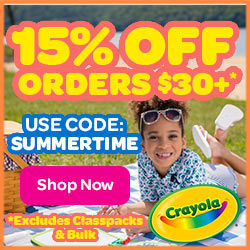 15% Off $30+ Order with SUMMERTIME