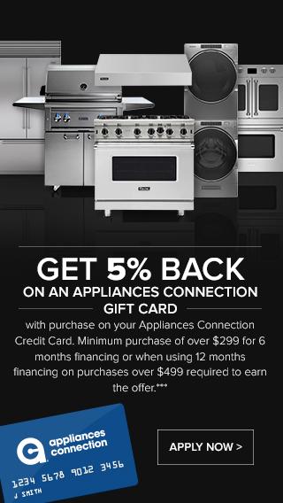 Appliances Connection Credit Card/Financing Program Promotion