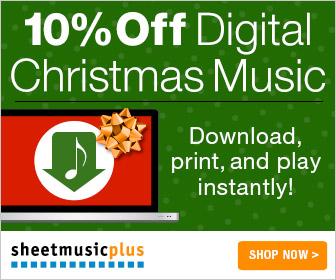 Digital Christmas Music Sale
