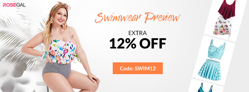 Use Code: SWIM12 Get Extra 12% OFF For Swimwear Preview