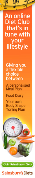 Sainsbury's Diet 120x600