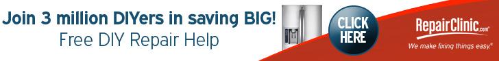 Join 3 Million DIYers in saving BIG - RepairClinic.com