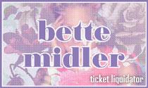 Bette Midler Concert Tickets