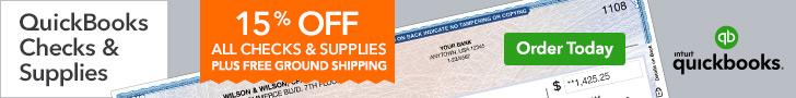 QuickBooks Checks and Supplies