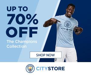 Manchester City Shop coupons