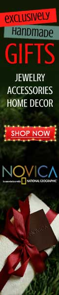 120x600 Exclusively Handmade NOVICA Gifts