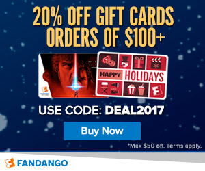20% Off Gift Card Orders of $100 or More