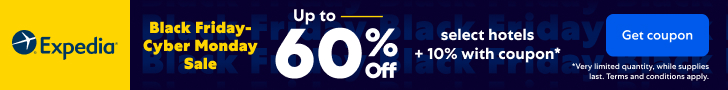Black Friday Cyber Monday Hotel Sale - Save Up To 60% On Select Hotels 1