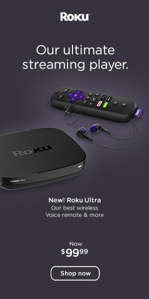 Online Streaming was never better then now! Roku