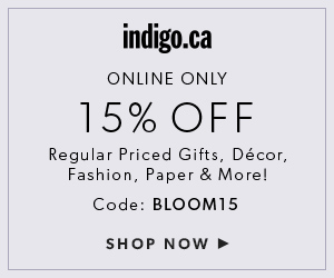 15% off with code BLOOM15