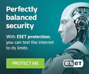Image for 300x250 ESET Banner, Protect Me - Perfectly balanced security