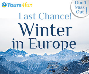 Winter in Europe 10% - 15% Off Tours and Things to do