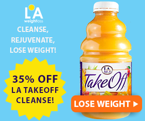 35% Off LA TakeOff Juice Cleanse!