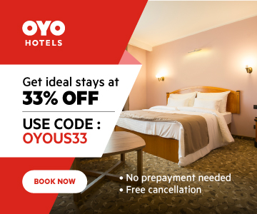 Check-in to clean & safe hotels at 33% off! Use code: OYOUS33