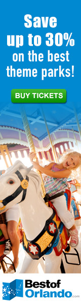 Save up to 30% on Orlando Theme Parks!