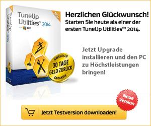 TuneUp Utilities 2013 - Jetzt kostenlos testen