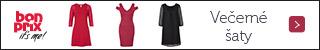 320x50 večerné šaty