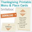 Free Thanksgiving printables from Smilebox.