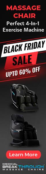 Best Massage Chair Black Friday Sale