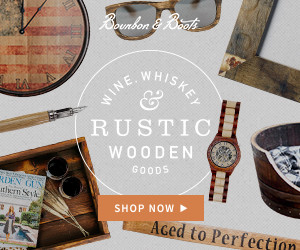 Rustic & Wooden Home Decor by Bourbon & Boots