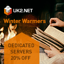�200 off SErvers at UK2.NET