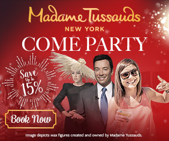 Save up to 15% off admission to Madame Tussauds New York