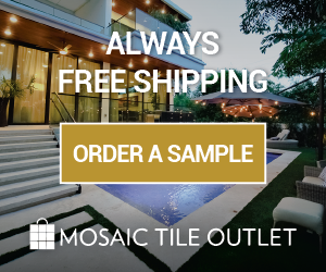 Order a sample as well as receive free shipping - MosaicTileOutlet.com
