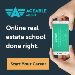 Image for AceableAgent Online Real Estate School - Banner Ad 250x250