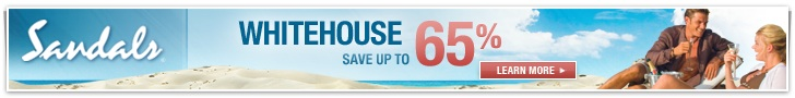 Save up to 65% at Sandals Whitehouse