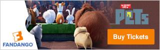 Fandango - The Secret Life of Pets Movie Tickets