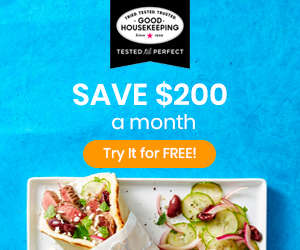 Save $200 a month with the Good Housekeeping Meal Plan!