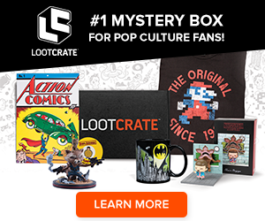 Get the #1 monthly mystery box for geeks & gamers!