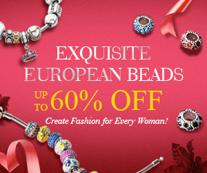 PandaHall Coupon - Up to 60% OFF on Exquisite European Beads, Create Fashion for EverY Woman!
