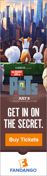 Fandango - The Secret Life of Pets Movie Tickets